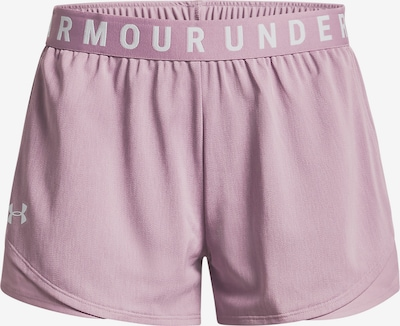UNDER ARMOUR Sporthose 'Play Up' in rosa / weiß, Produktansicht