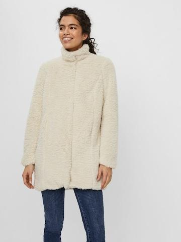 VERO MODA Winter Coat in Grey