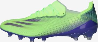 ADIDAS PERFORMANCE Fußballschuh 'X GHOSTED.1' in royalblau / neongrün, Produktansicht