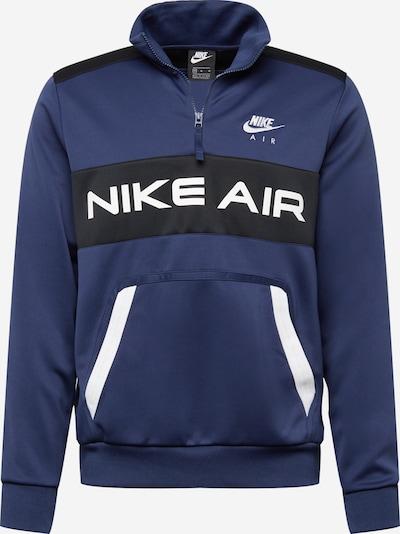 Nike Sportswear Collegepaita värissä laivastonsininen / musta / valkoinen, Tuotenäkymä