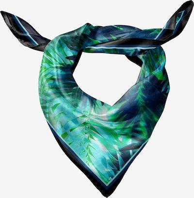 Keola Seidentuch in blau / navy / grün, Produktansicht