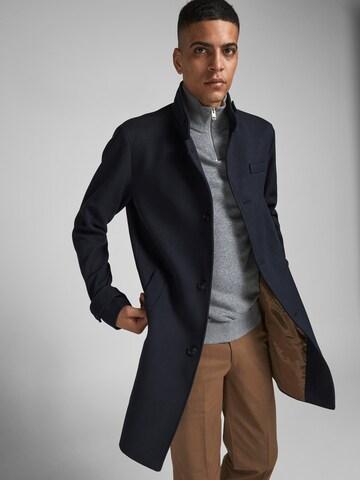 Manteau mi-saison 'Blamelton' JACK & JONES en bleu