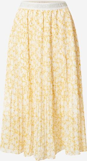 Le Temps Des Cerises Jupe 'ZONZA' en jaune / blanc, Vue avec produit