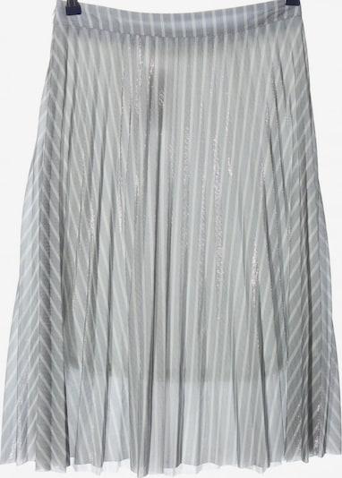CHICWISH Glockenrock in M in hellgrau / silber / weiß, Produktansicht