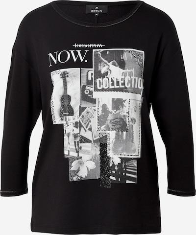 monari T-shirt en gris / noir / blanc, Vue avec produit