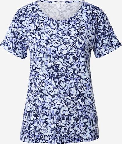 Claire Shirt 'Aoife' in navy / taubenblau / weiß, Produktansicht