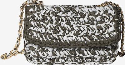 BeckSöndergaard Tasche 'Mixa' in khaki / weiß, Produktansicht