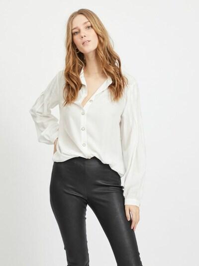 VILA Bluse 'Lane' in weiß, Modelansicht
