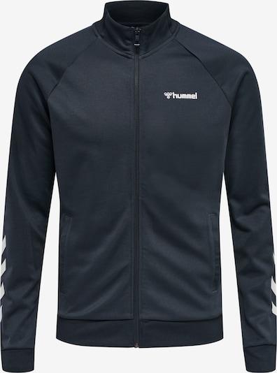 Hummel Sportsweatvest in de kleur Kobaltblauw / Wit, Productweergave