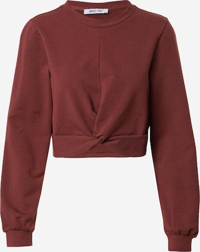 ABOUT YOU Sweatshirt 'Shari' in de kleur Bruin, Productweergave