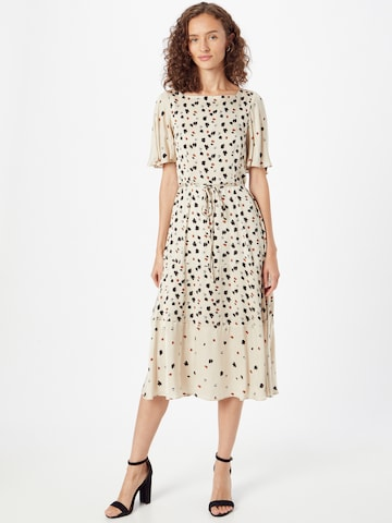 FRENCH CONNECTION Dress 'DOLORES' in Beige