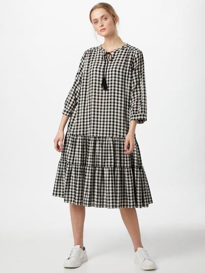 Masai Kleid 'Nari' in schwarz / weiß, Modelansicht