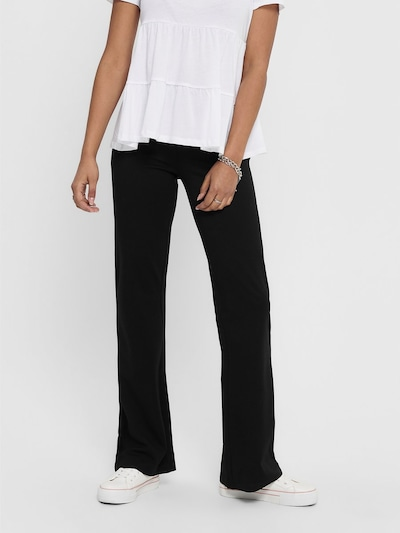 JDY Pantalon 'JDYPRETTY' en noir, Vue avec modèle