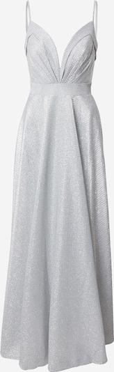LUXUAR Abendkleid in silber: Frontalansicht
