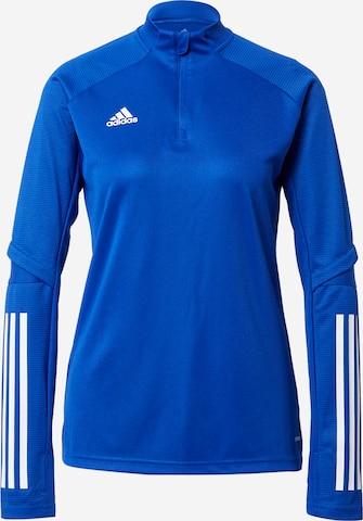 ADIDAS PERFORMANCE Trainingsshirt 'Condivo 20' in Blau