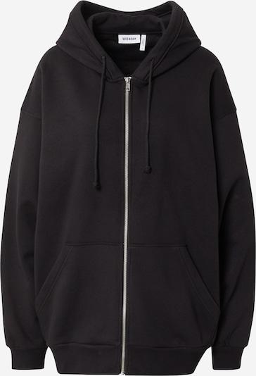 Džemperis iš WEEKDAY, spalva – šviesiai violetinė / juoda / balta, Prekių apžvalga