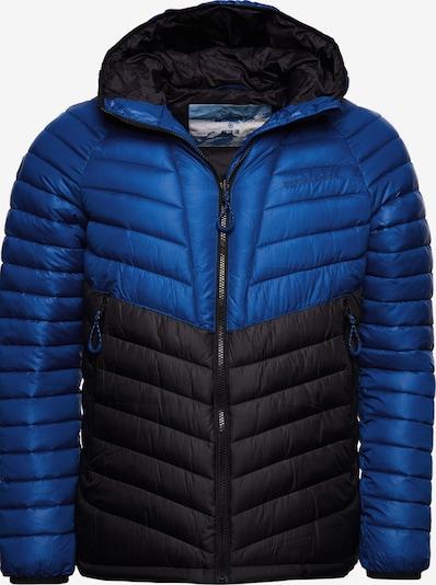 Superdry Sportjas in de kleur Blauw / Zwart, Productweergave