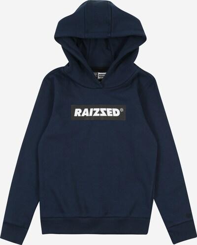 Raizzed Sweatshirt 'New York' in dunkelblau / schwarz / weiß, Produktansicht