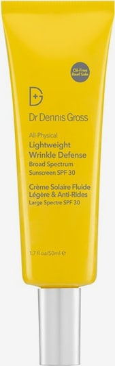 Dr Dennis Gross Sunscreen 'All Physical Lightweight Wrinkle Defense' in Yellow / Grey, Item view