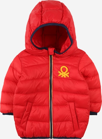 Veste mi-saison UNITED COLORS OF BENETTON en rouge