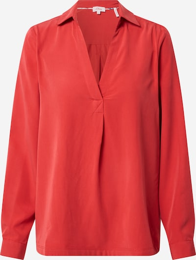 s.Oliver Bluse in rot, Produktansicht
