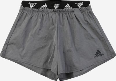 ADIDAS PERFORMANCE Športové nohavice - grafitová / čierna / biela, Produkt
