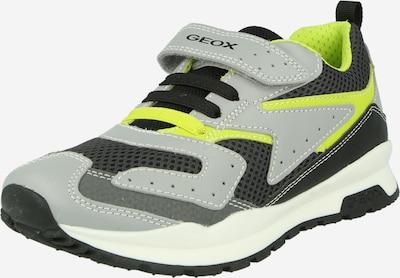 GEOX Sneaker 'J PAVEL' in neongelb / grau / anthrazit, Produktansicht