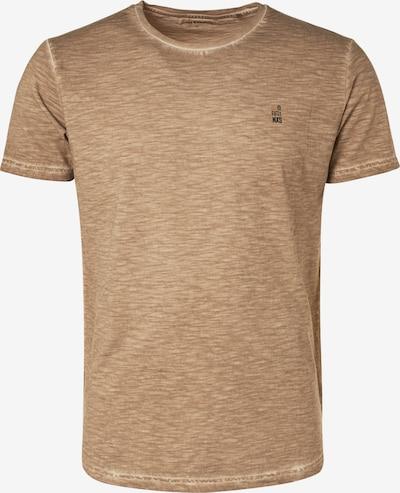 No Excess Shirt in de kleur Beige / Donkergrijs / Sinaasappel, Productweergave
