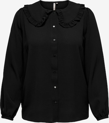 ONLY Carmakoma Bluse 'Silvia' in Schwarz