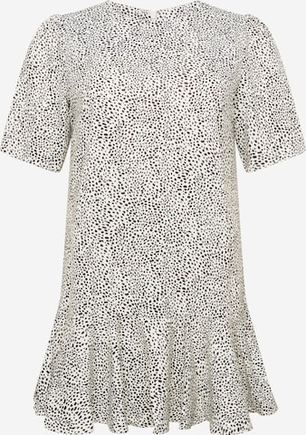 Chi Chi Curve Dress in White