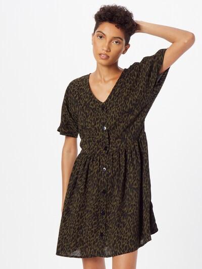 ABOUT YOU Kleid 'Pia' in khaki / schwarz, Modelansicht