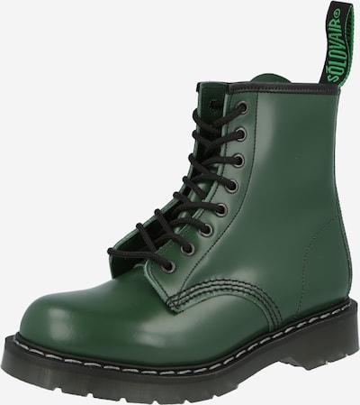 Solovair Botines con cordones 'Derby' en verde, Vista del producto