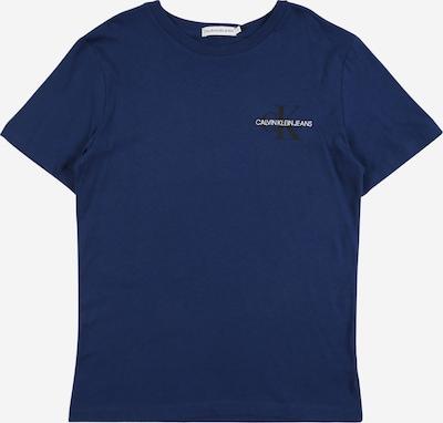 Calvin Klein Jeans T-Shirt in dunkelblau / schwarz / weiß, Produktansicht