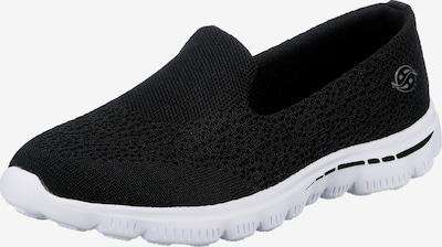 Dockers by Gerli Slip-on in de kleur Zwart, Productweergave