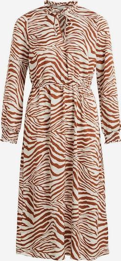 VILA Kleid in beige / braun, Produktansicht