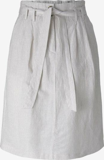 TOM TAILOR Rock in grau / weiß, Produktansicht