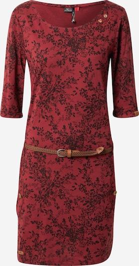 Ragwear Kleid 'TANYA' in weinrot / schwarz, Produktansicht