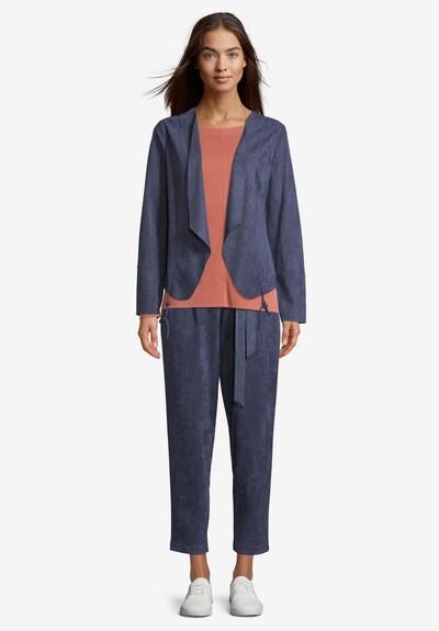 Betty & Co Casual-Jacke langarm in blau, Modelansicht