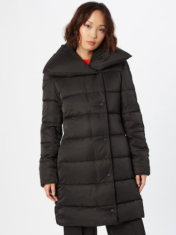 juoda HUGO Žieminis paltas 'Faria-1'