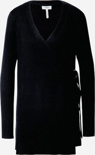 OBJECT Pletena jopa | črna barva, Prikaz izdelka