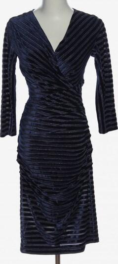 Sonja Kiefer Midikleid in XS in blau / schwarz / silber, Produktansicht