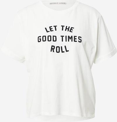 CATWALK JUNKIE Shirt in schwarz / weiß, Produktansicht