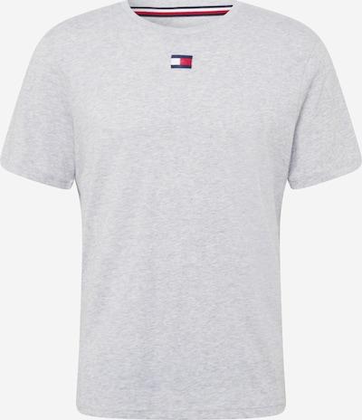 Tommy Sport T-Shirt fonctionnel en bleu foncé / gris clair / melon / blanc, Vue avec produit
