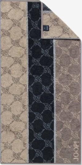JOOP! Handdoek in de kleur Beige / Bruin / Zwart, Productweergave