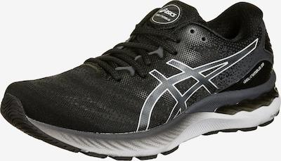 ASICS Laufschuh 'Gel-Nimbus 23' in grau / schwarz / weiß, Produktansicht