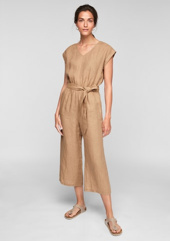 s.Oliver Jumpsuit in Beige