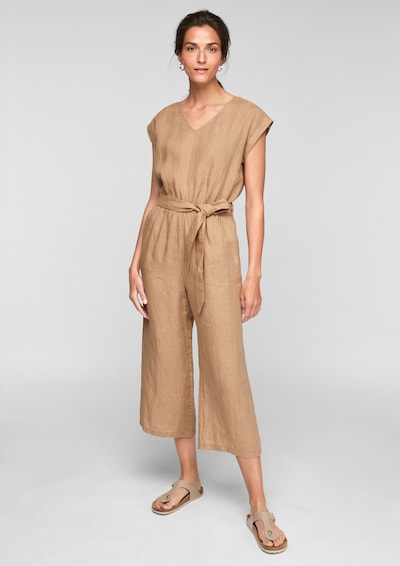 s.Oliver Jumpsuit in Beige, View model