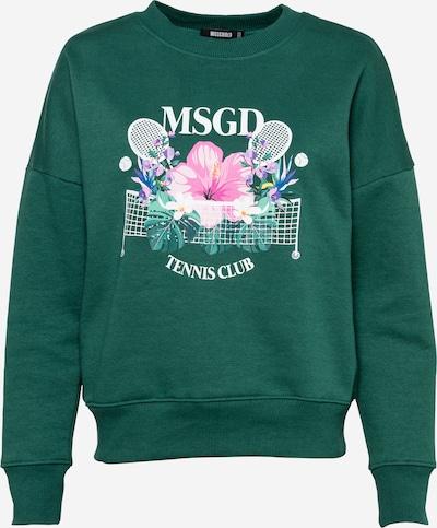 Missguided Sudadera en azul / verde / rosa / blanco, Vista del producto
