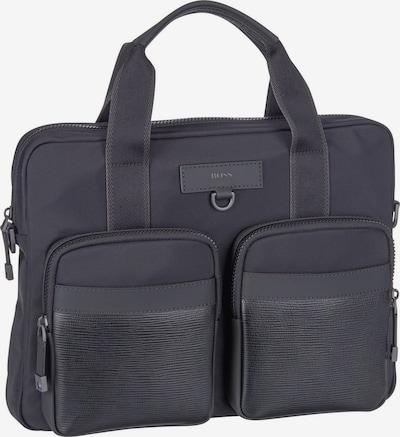 BOSS Casual Aktentas 'Trucker M' in de kleur Zwart, Productweergave