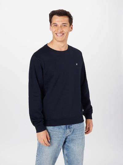 s.Oliver Sweatshirt in de kleur Donkerblauw, Modelweergave